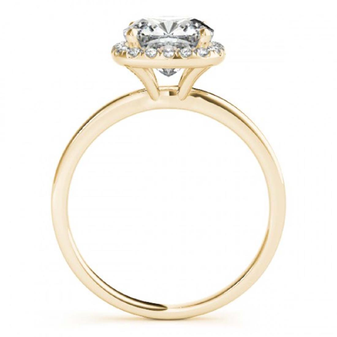 1.15 CTW Certified VS/SI Cushion Diamond Solitaire Halo - 2