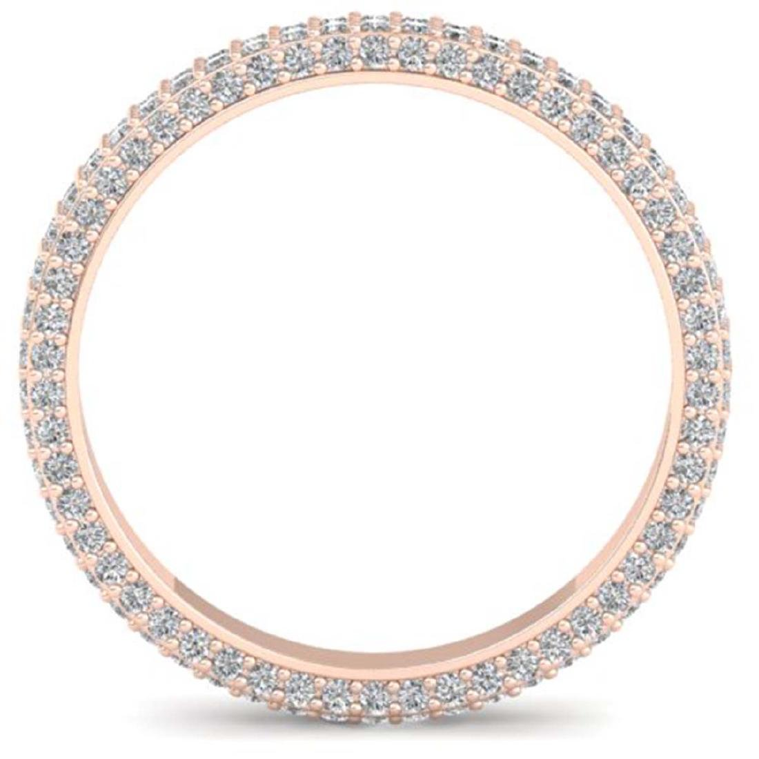 1.75 CTW Certified VS/SI Diamond Micro Eternity Ring - 3