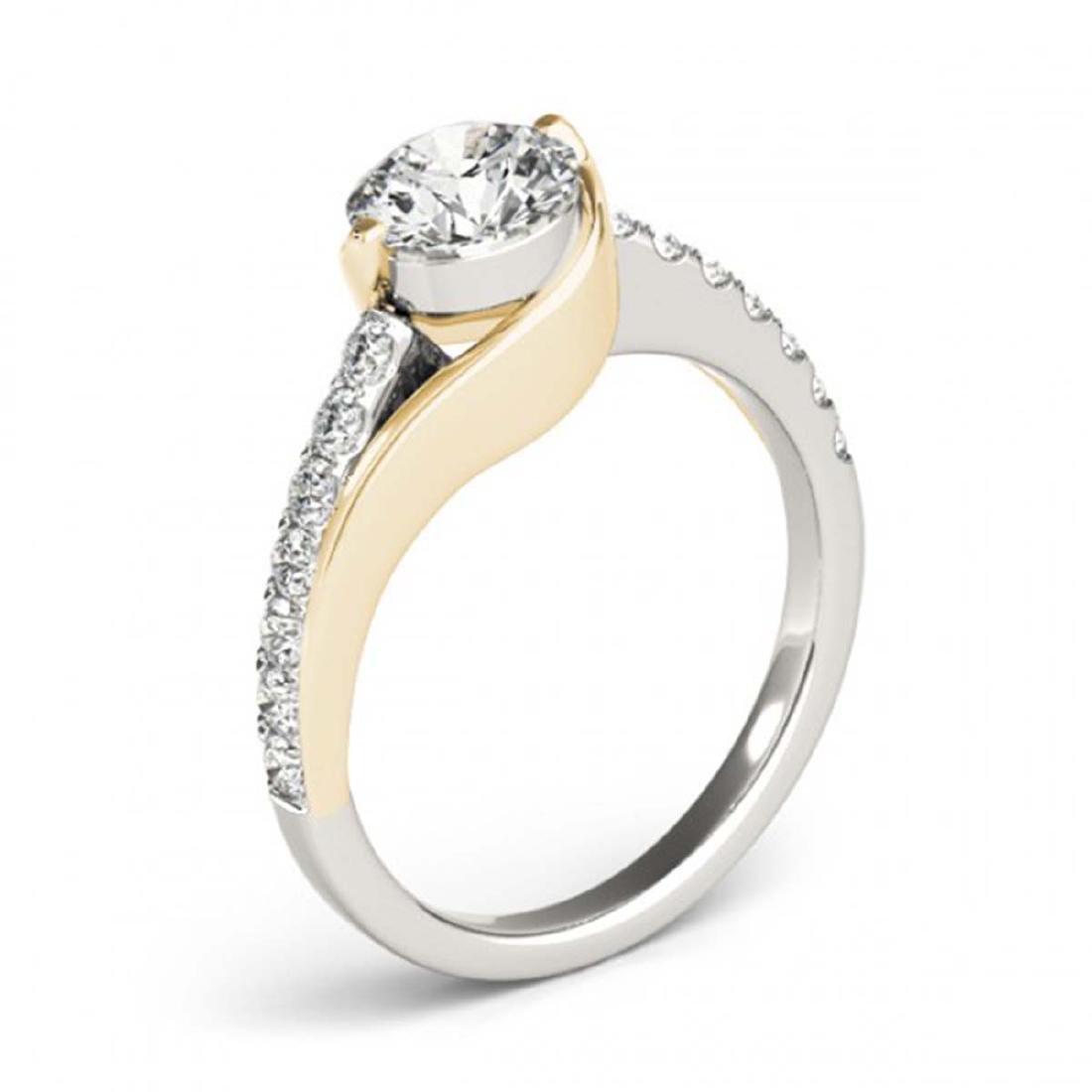 1.25 ctw VS/SI Diamond Solitaire Ring 14K White & - 3