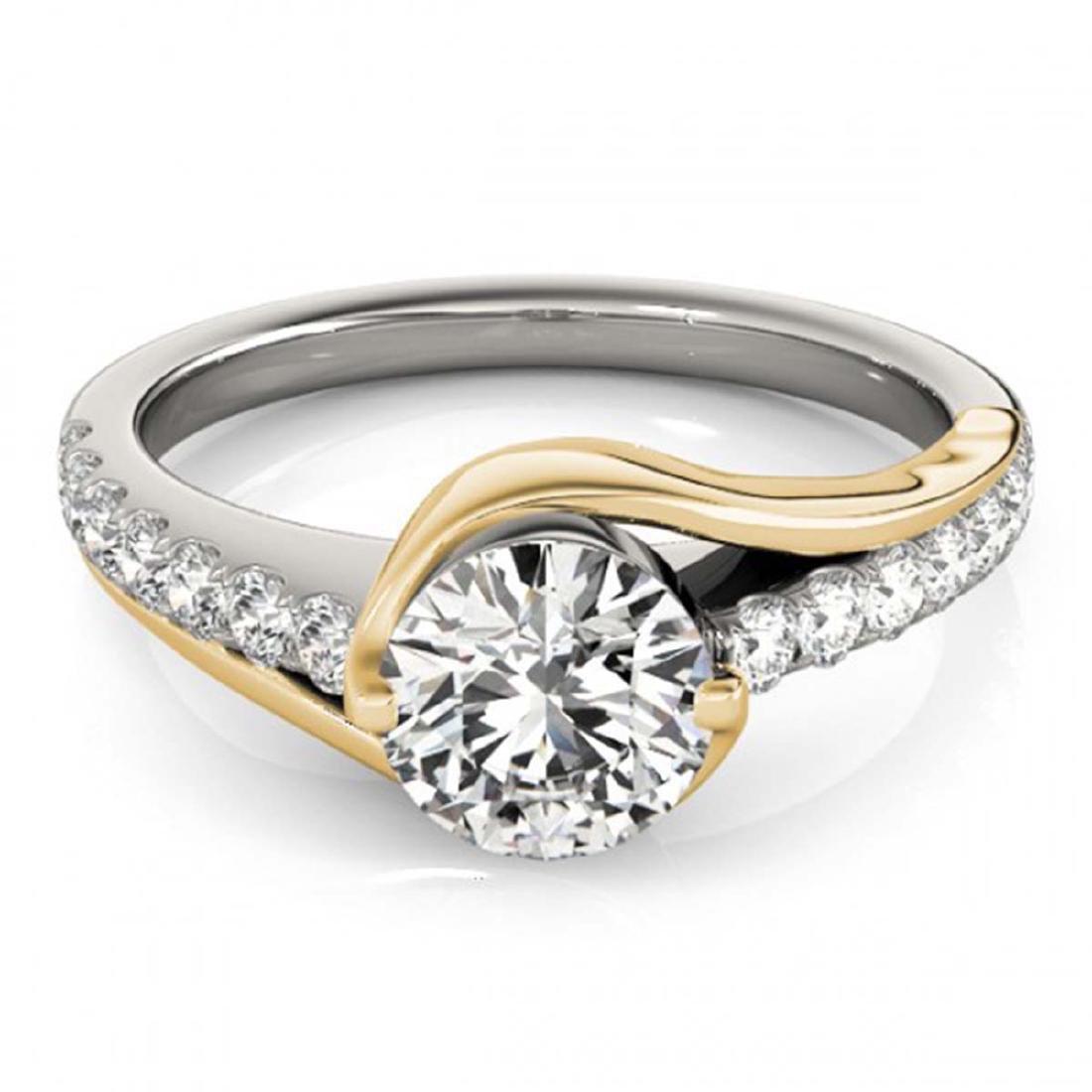 1.25 ctw VS/SI Diamond Solitaire Ring 14K White & - 2
