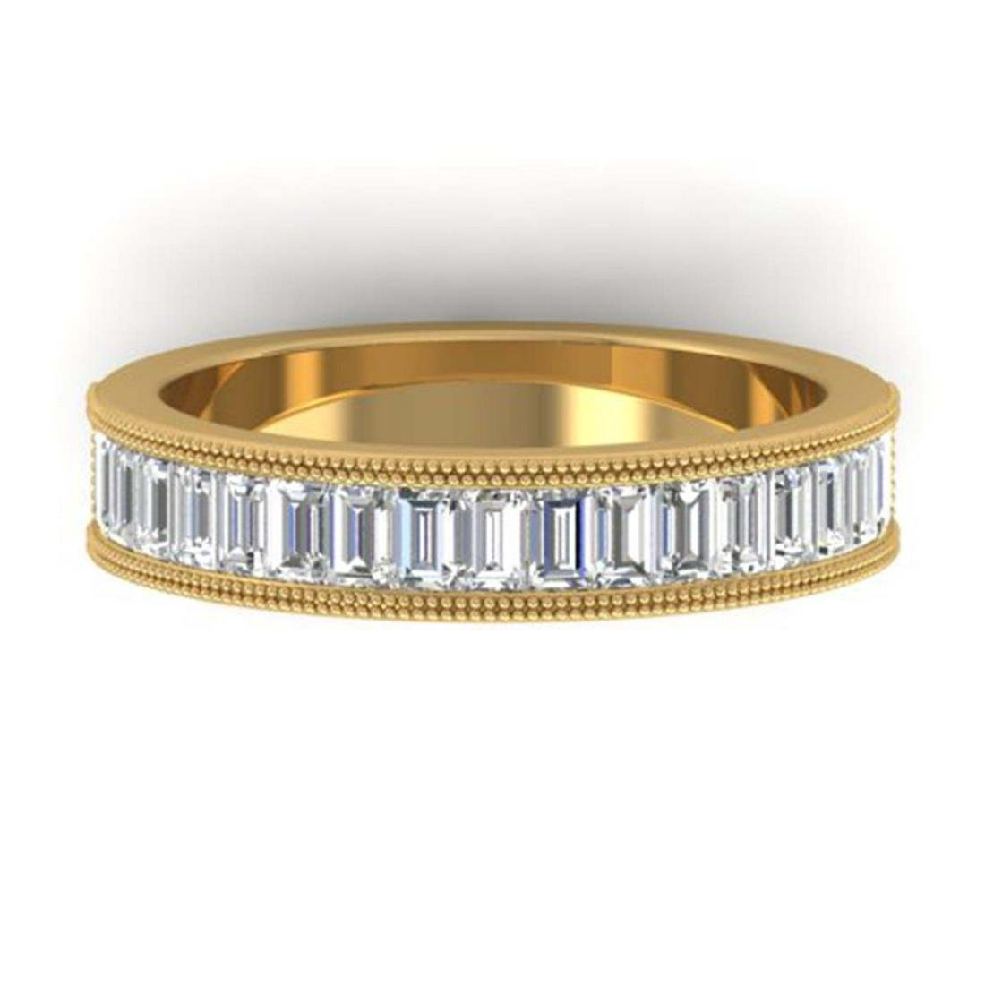 1.50 ctw Baguette VS/SI Diamond Art Deco Eternity 18K