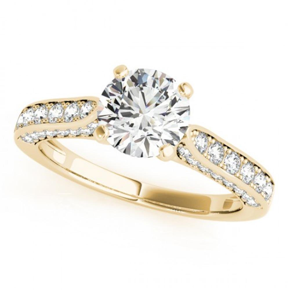 1.6 ctw Certified VS/SI Diamond Solitaire Ring 14k