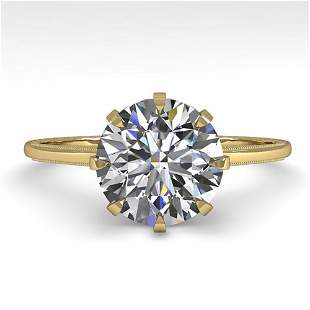 2.03 ctw Certified VS/SI Diamond Engagement Ring Size 7