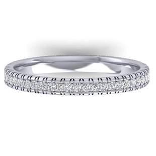 0.75 ctw Certified VS/SI Diamond Eternity Ring 14k