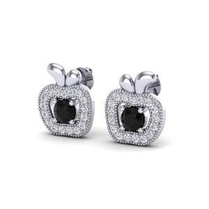 0.64 ctw VS/SI Diamond Certified Micro Pave Earrings