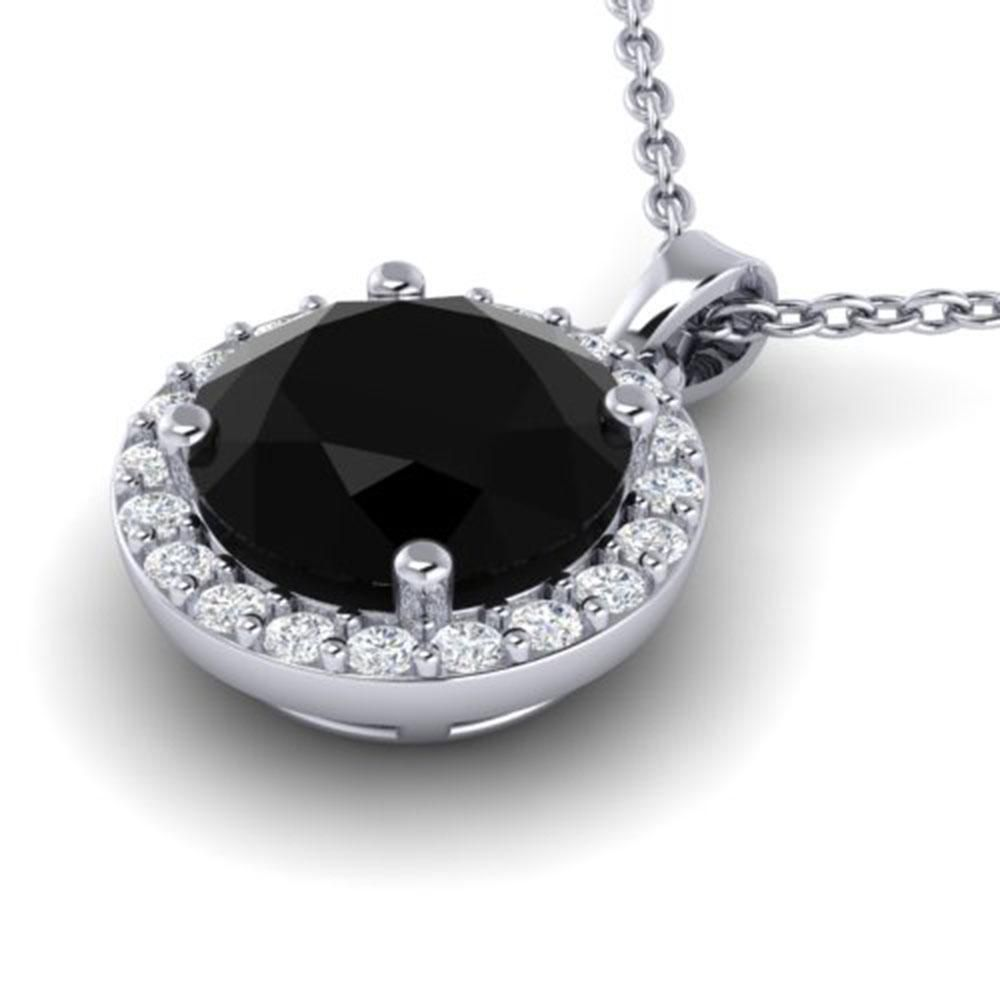 2 ctw Halo VS/SI Diamond Certified Micro Pave Necklace