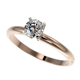 0.52 ctw Certified Quality Diamond Engagment Ring 10k