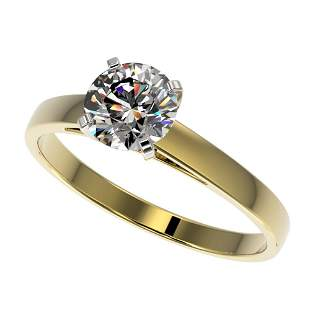 1.05 ctw Certified Quality Diamond Engagment Ring 10k