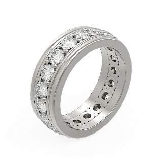 2.75 ctw Diamond Ladie's Ring 18K White Gold -