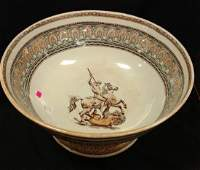 Ironstone Punch Bowl Staffordshire TransferwareSyntax