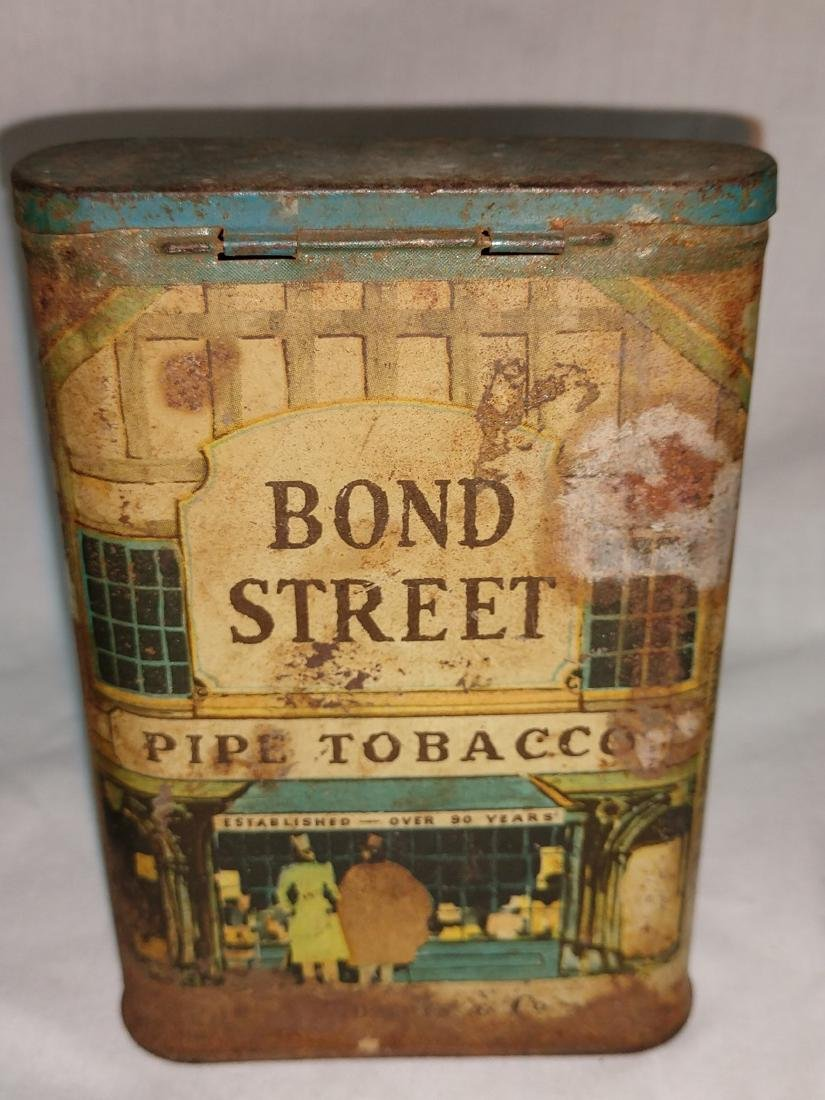 Tobacciana - Tobacco Tin Group of 4 - 5