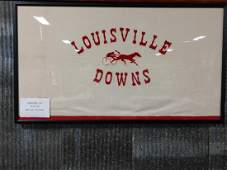 Framed Trotting Horse Shadowbox