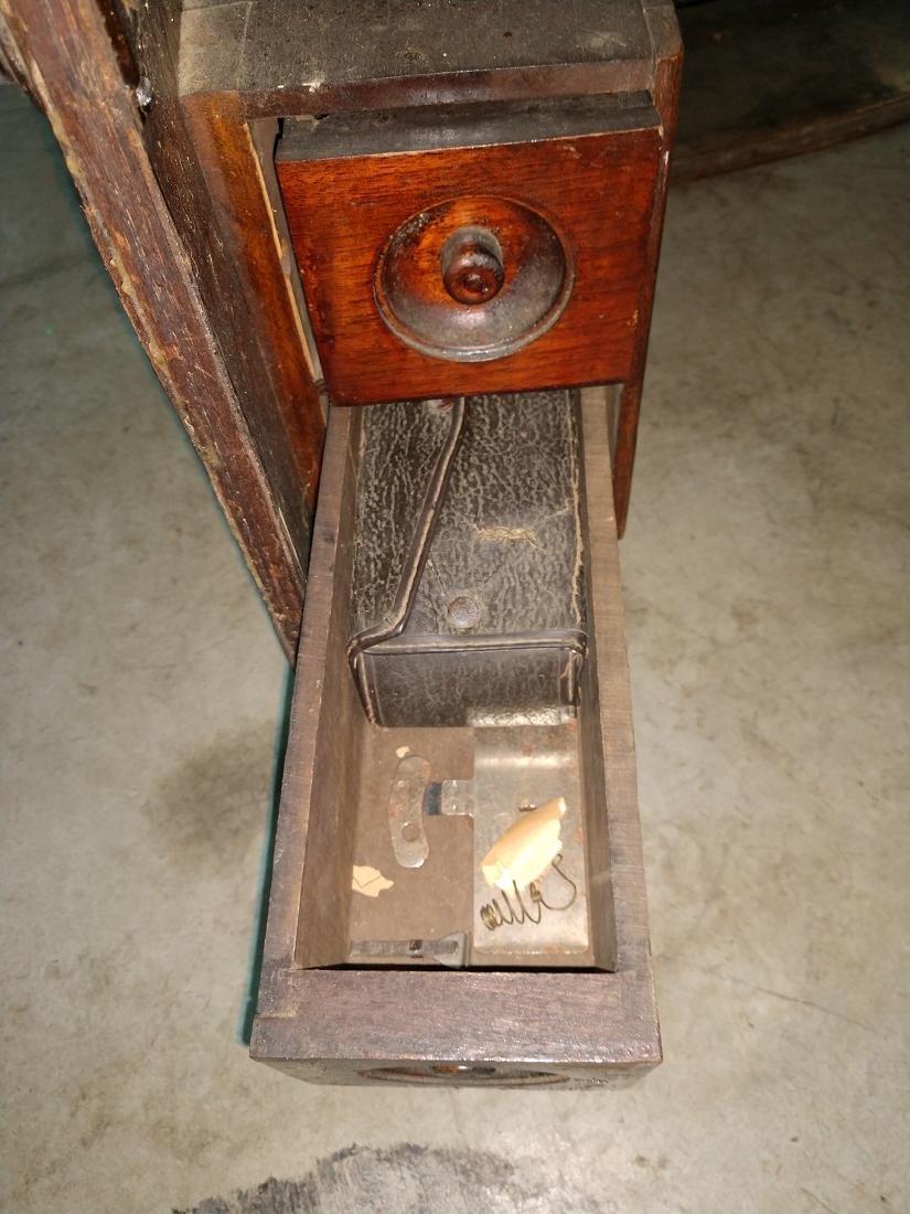 White Rotary Sewing Machine & Cabinet - 8