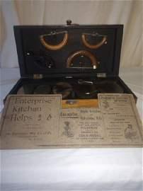 Iron - Enterprise Box & Irons