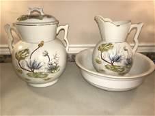 Porcelain Chamber Set