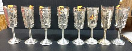 Sterling Silver Cordials