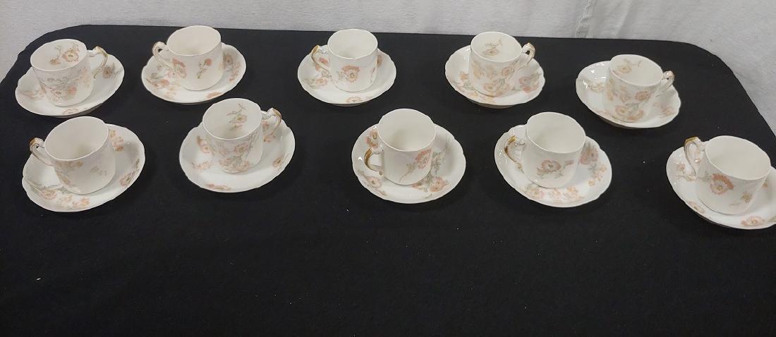 Demitase Cups & Saucers (11)