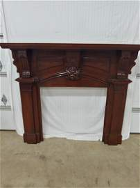 Mantle - Antique Fireplace