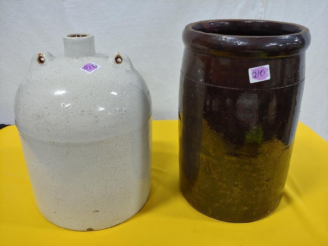 Stoneware Crock & Jug (2)