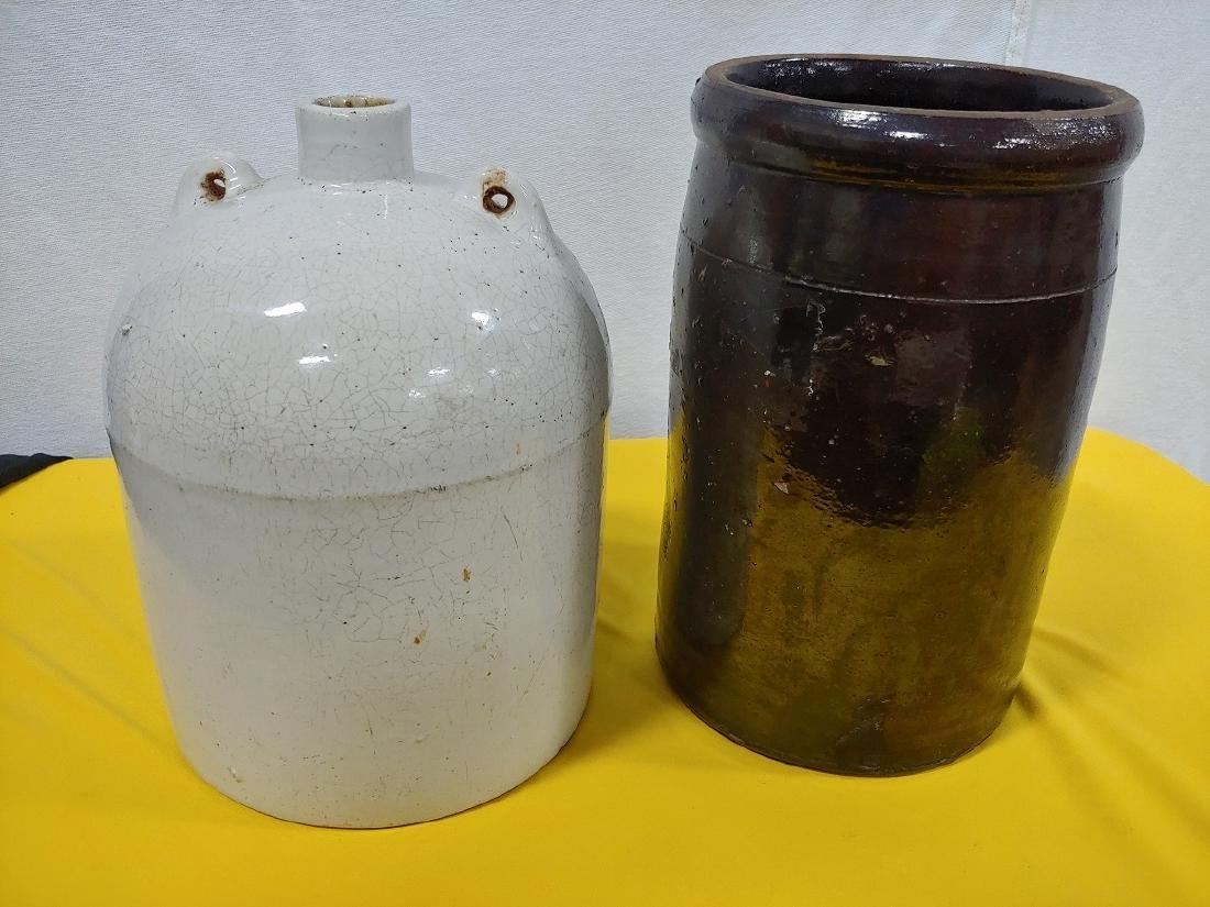 Stoneware Crock & Jug (2) - 2