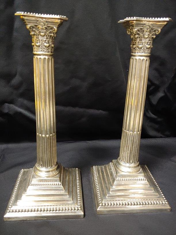Plated Silver - Plated Silver Candlesticks