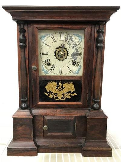 Clock - Adkins Clock C. Regulator