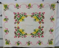 Quilt - Pink Rosebud