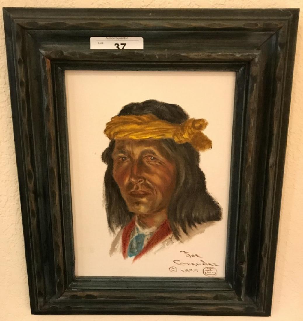 Joe Ruiz Grandee Original Oil Painting, Circa 1970