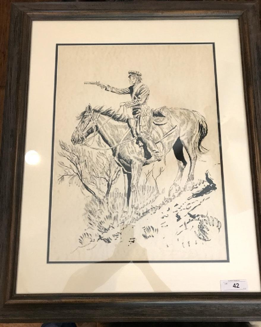 Joe Ruiz Grandee Original Sketch, Signed