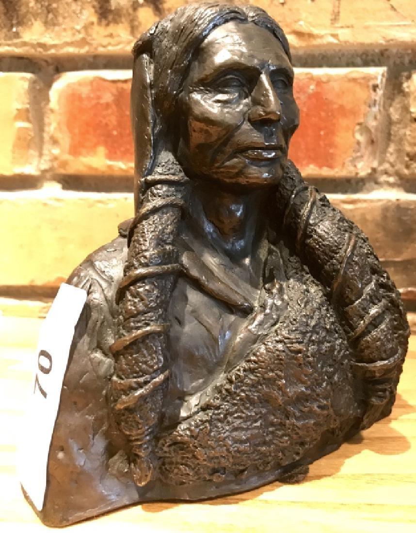 """"""" Fenn"""" Bronze By Joe Ruiz Grandee, 6/100"""