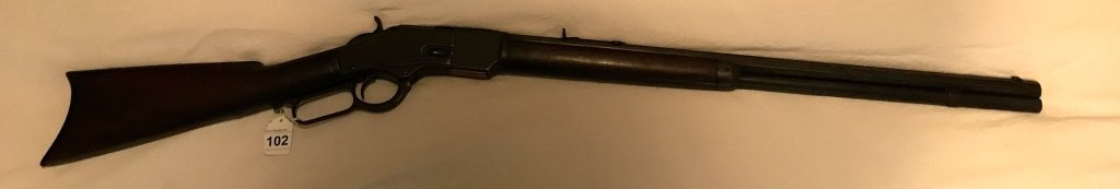 Antique Winchester Lever Action .38 W C F