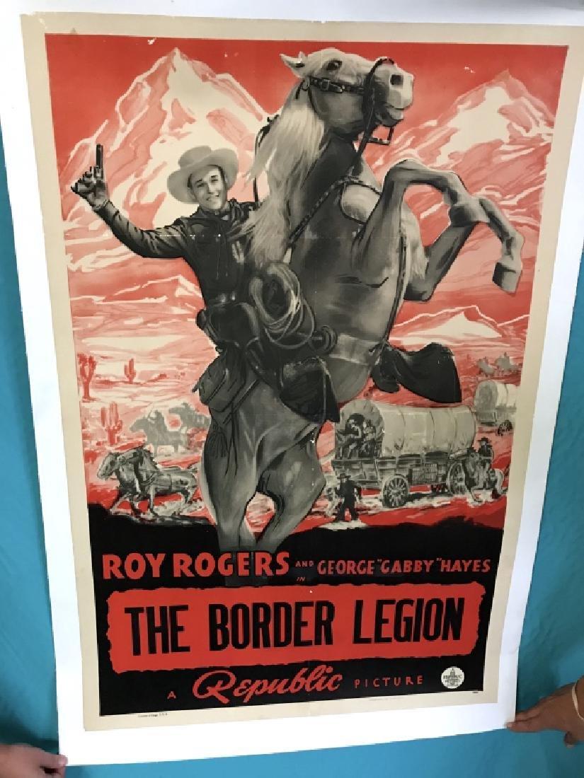 Unframed Original The Border Legion Movie Poster