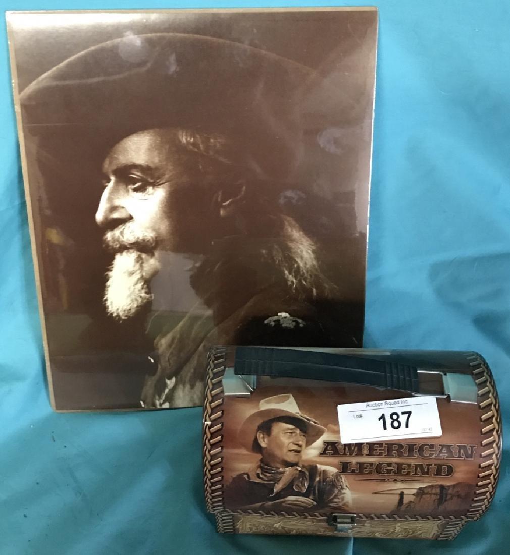 Wild Bill Picture & John Wayne Lunchbox