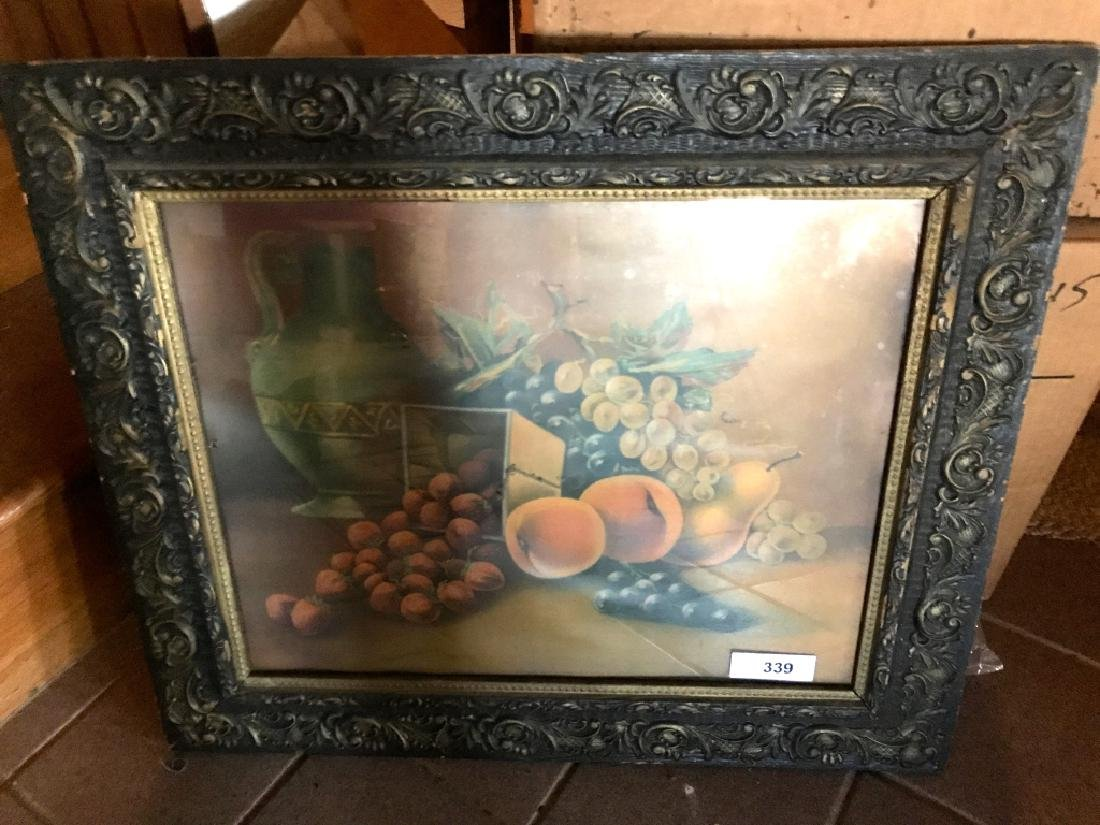 Antique Framed Fruit Picture