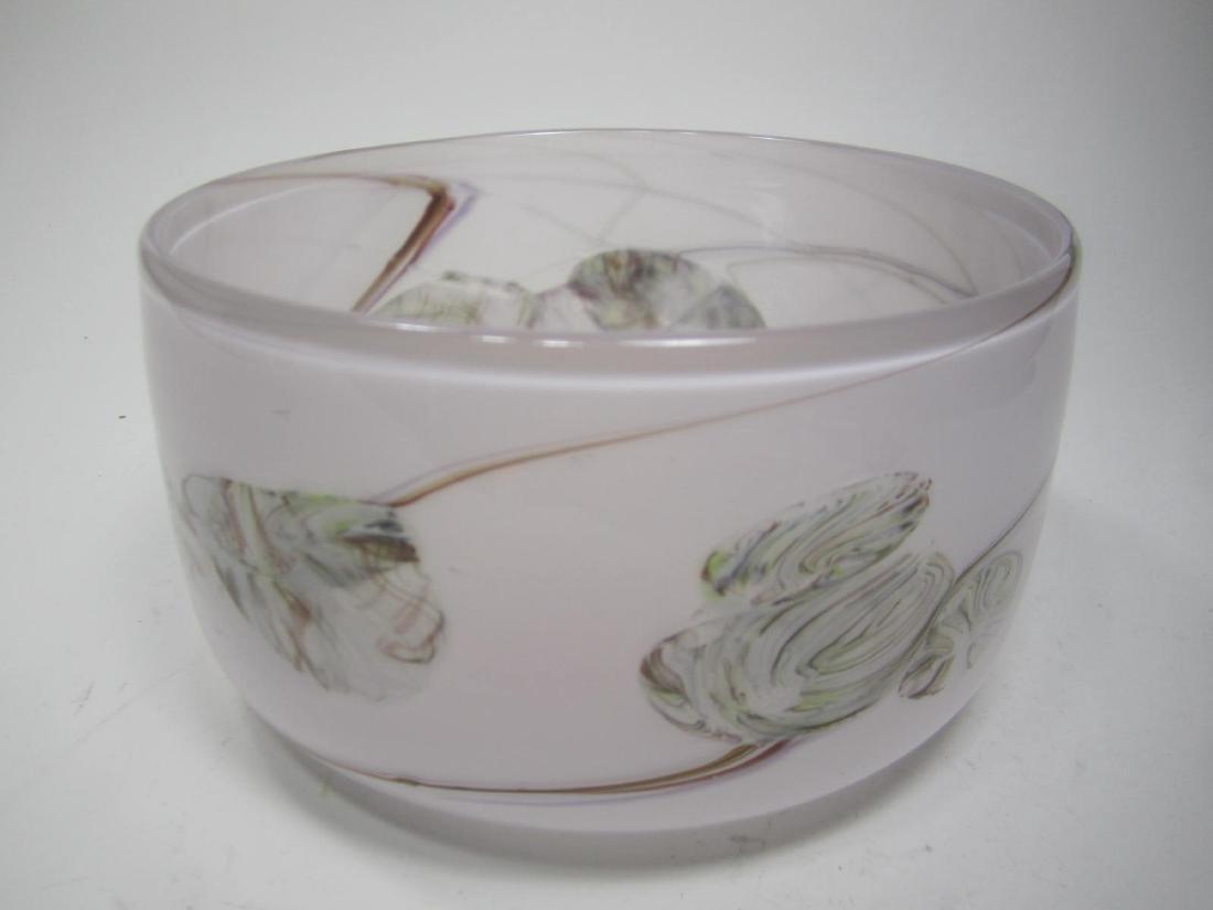 BARRY CULLEN ART GLASS BOWL