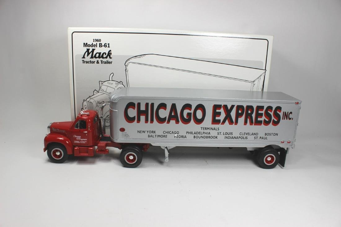 2/34 SCALE CHICAGO EXPRESS INC TRUCK MODEL - 5
