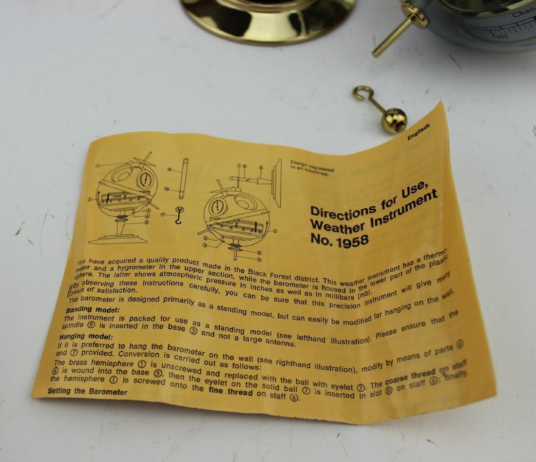 TELSTAR PRECISION MADE BAROMETER - 8