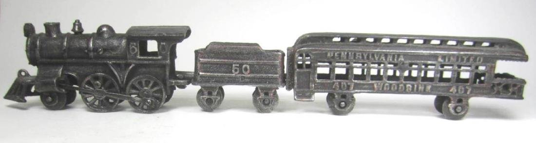CAST IRON PENNSYLVANIA TRAIN CAR TOY - 2