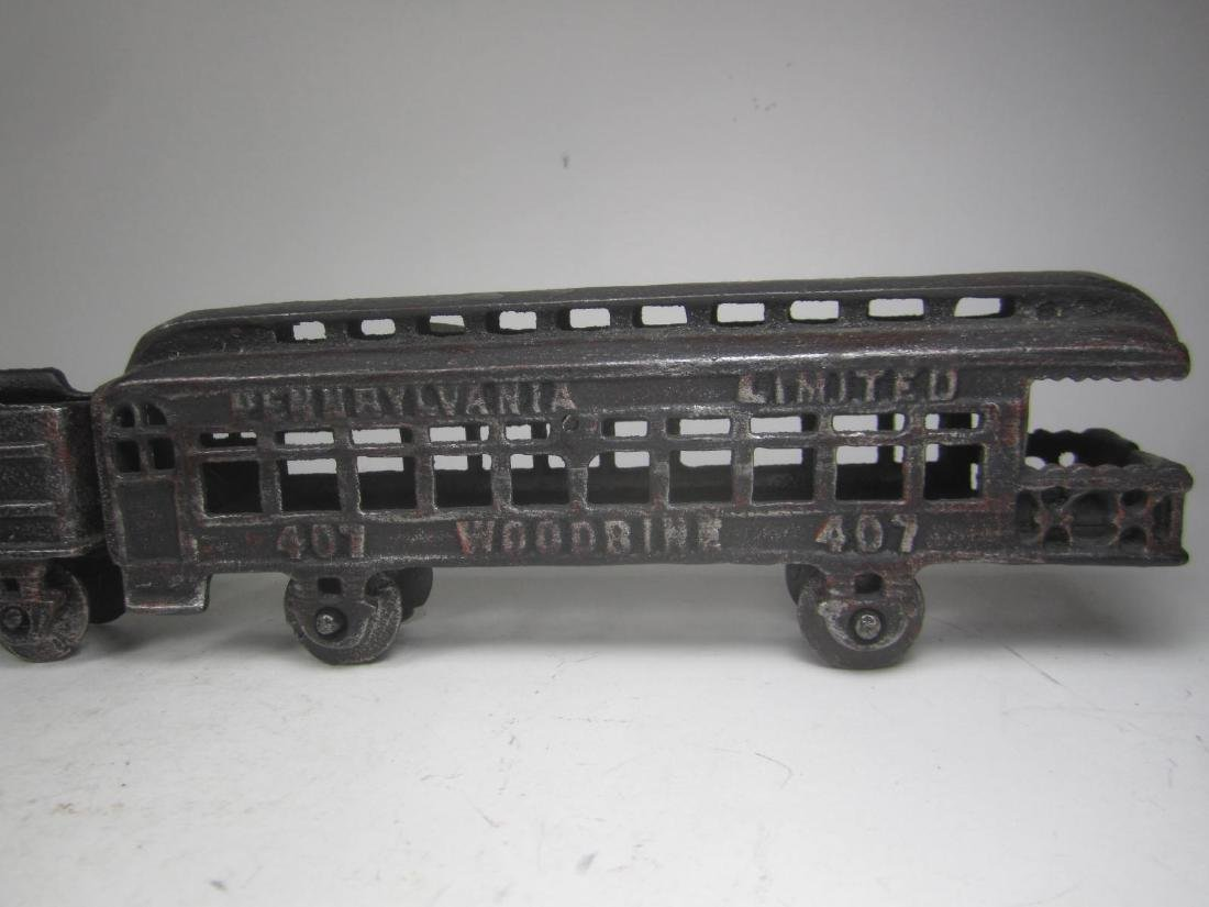 CAST IRON PENNSYLVANIA TRAIN CAR TOY - 3