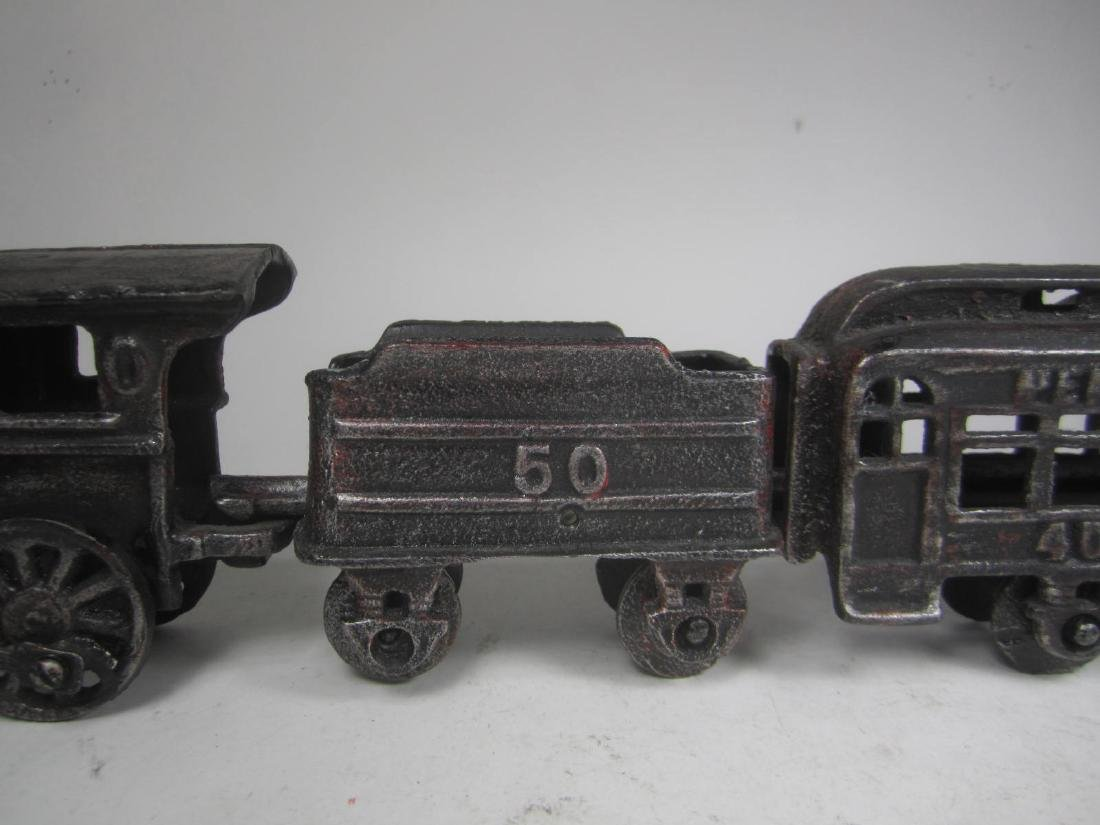 CAST IRON PENNSYLVANIA TRAIN CAR TOY - 4