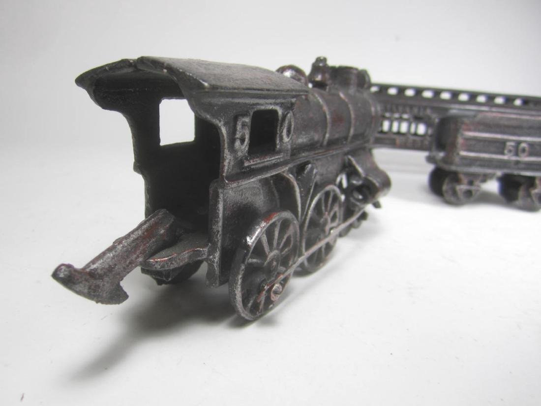 CAST IRON PENNSYLVANIA TRAIN CAR TOY - 5