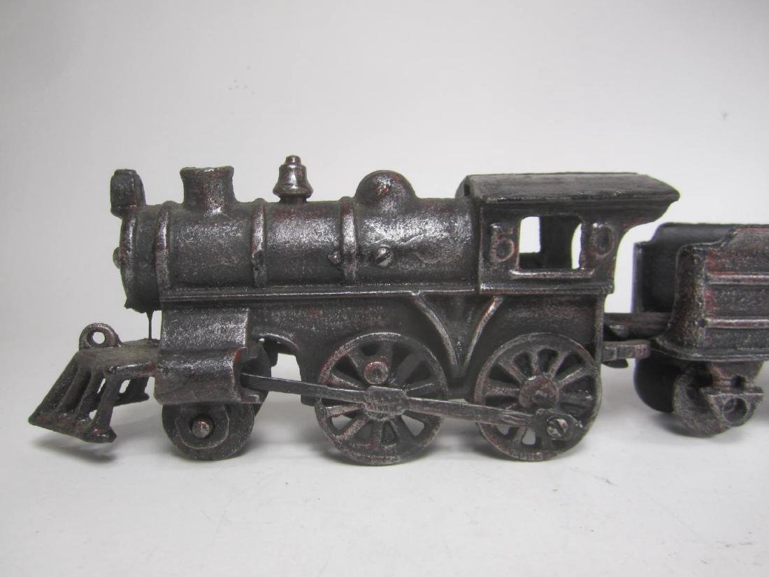 CAST IRON PENNSYLVANIA TRAIN CAR TOY - 6