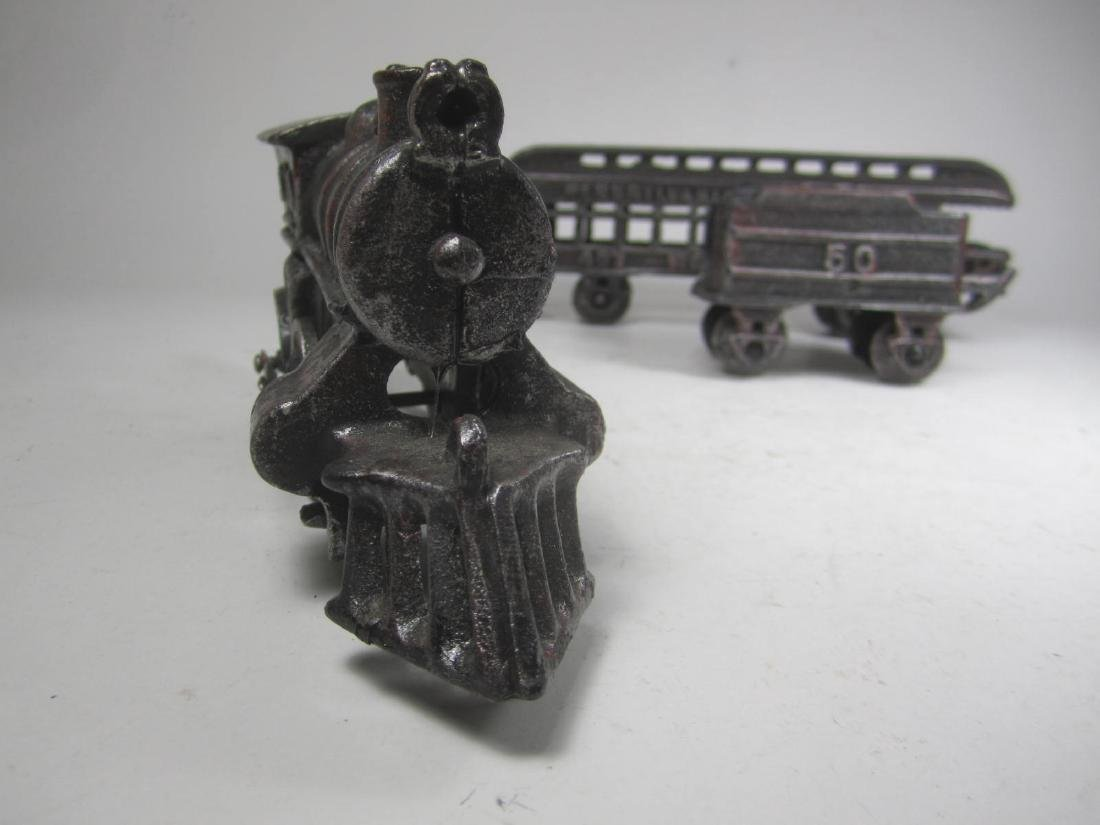 CAST IRON PENNSYLVANIA TRAIN CAR TOY - 7