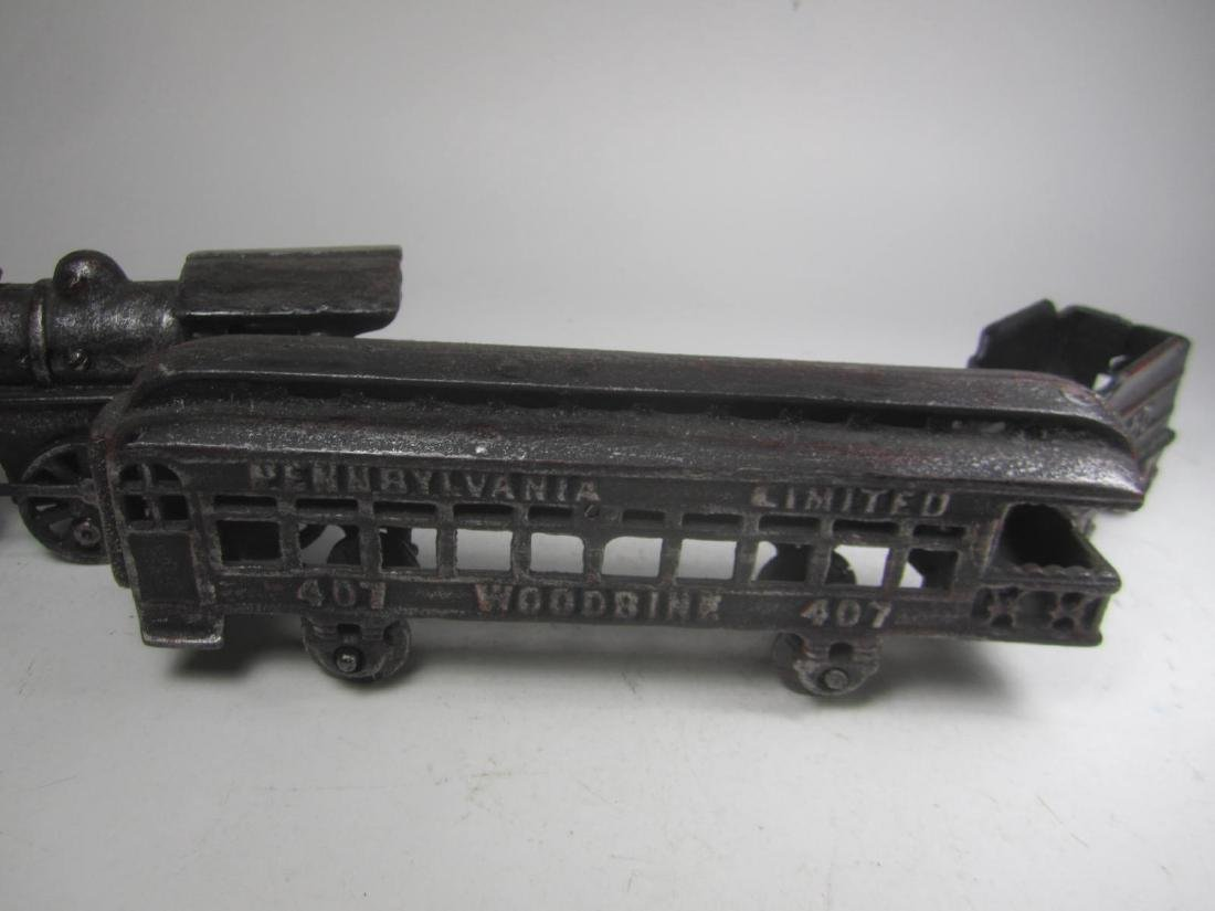 CAST IRON PENNSYLVANIA TRAIN CAR TOY - 8