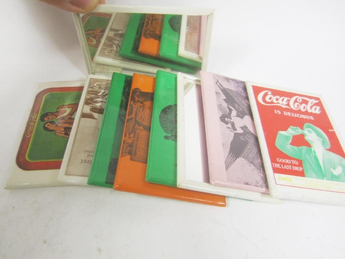Nine Various Coco-Cola Collectible Mirrors - 4