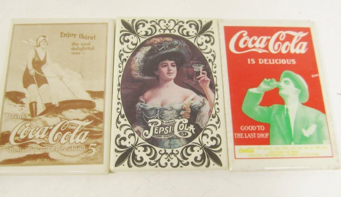 Nine Various Coco-Cola Collectible Mirrors - 5