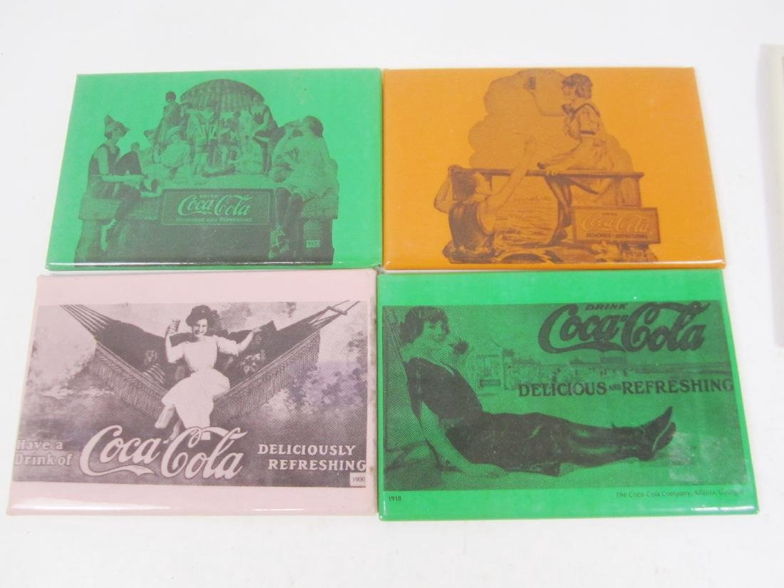 Nine Various Coco-Cola Collectible Mirrors - 6