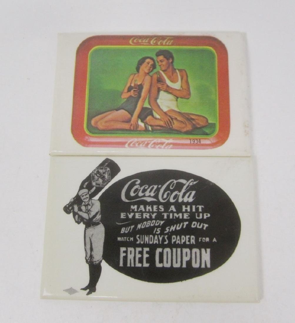Nine Various Coco-Cola Collectible Mirrors - 7
