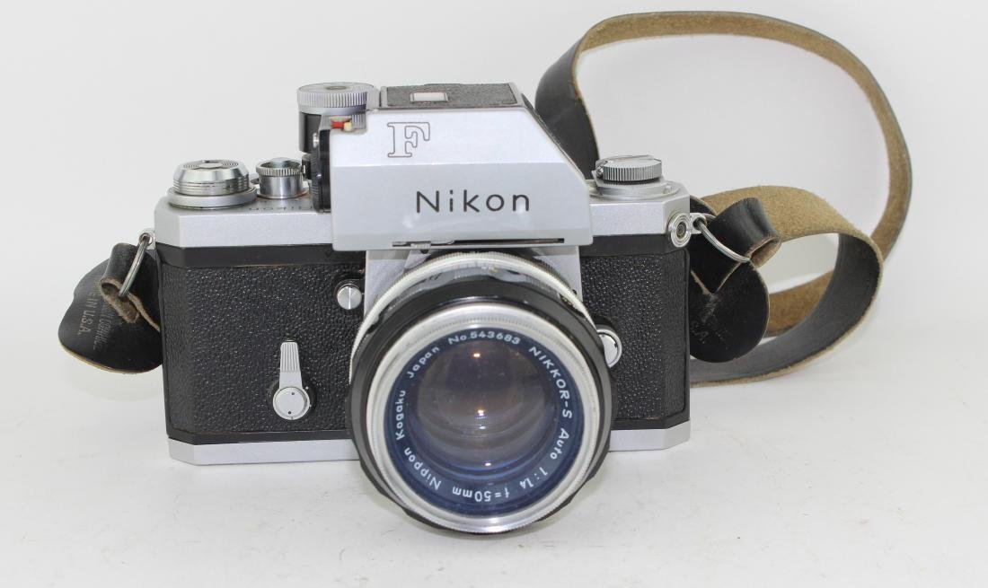 NIKON F CAMERA - 3