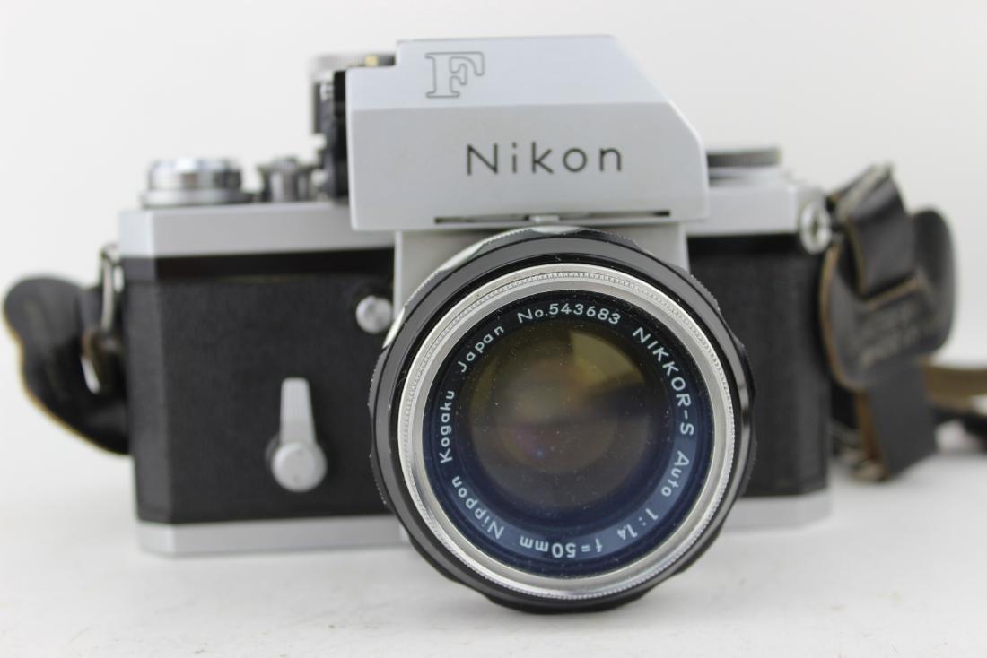 NIKON F CAMERA - 8